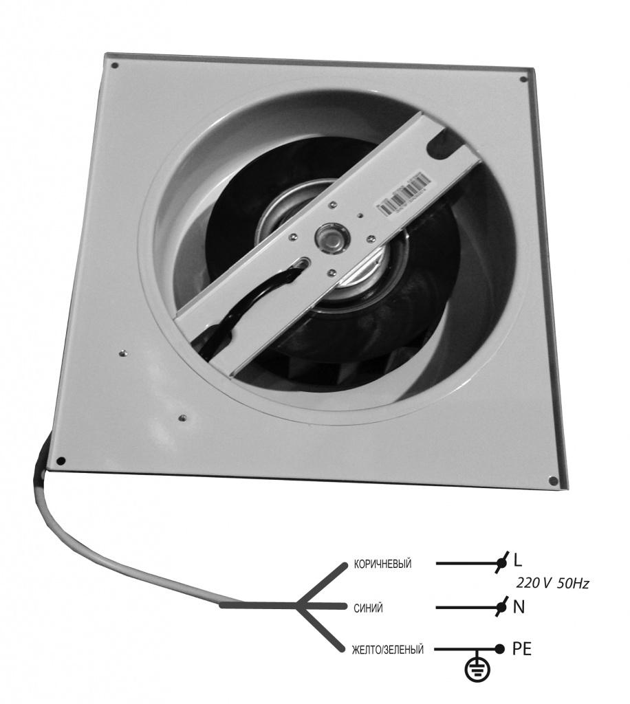 схема управления бытовым вентилятором